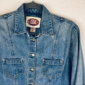 VINTAGE LUA American Classic Denim Jacket